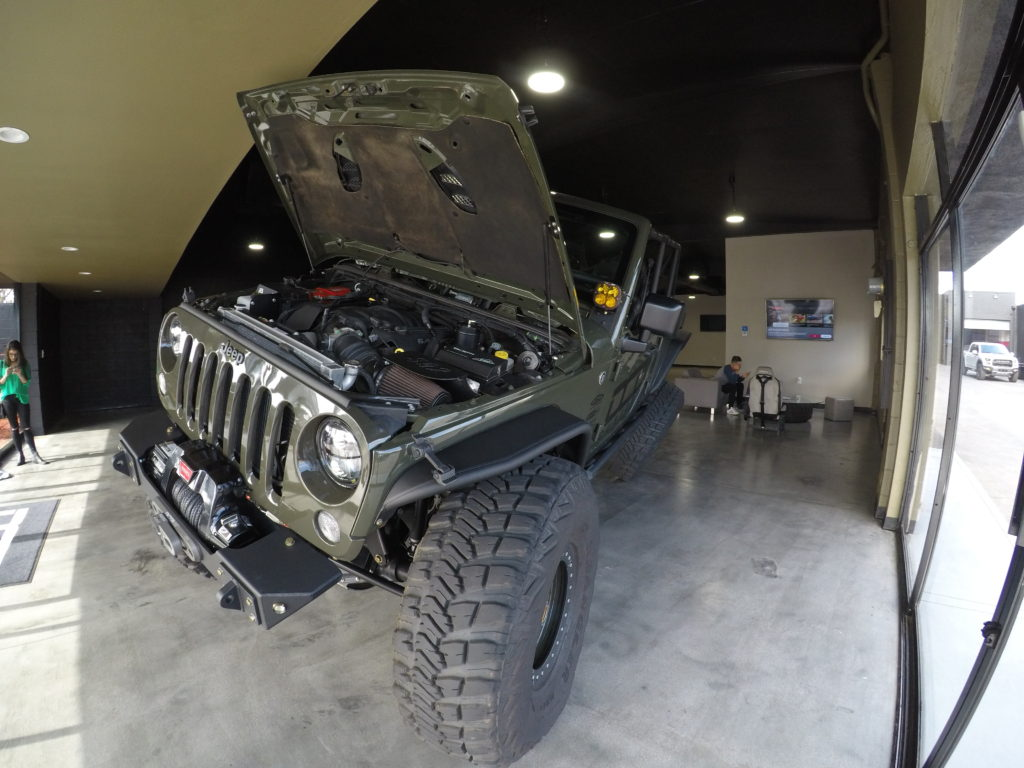 Best custom jeep builders in los angeles california dcd for Best mud motor on the market