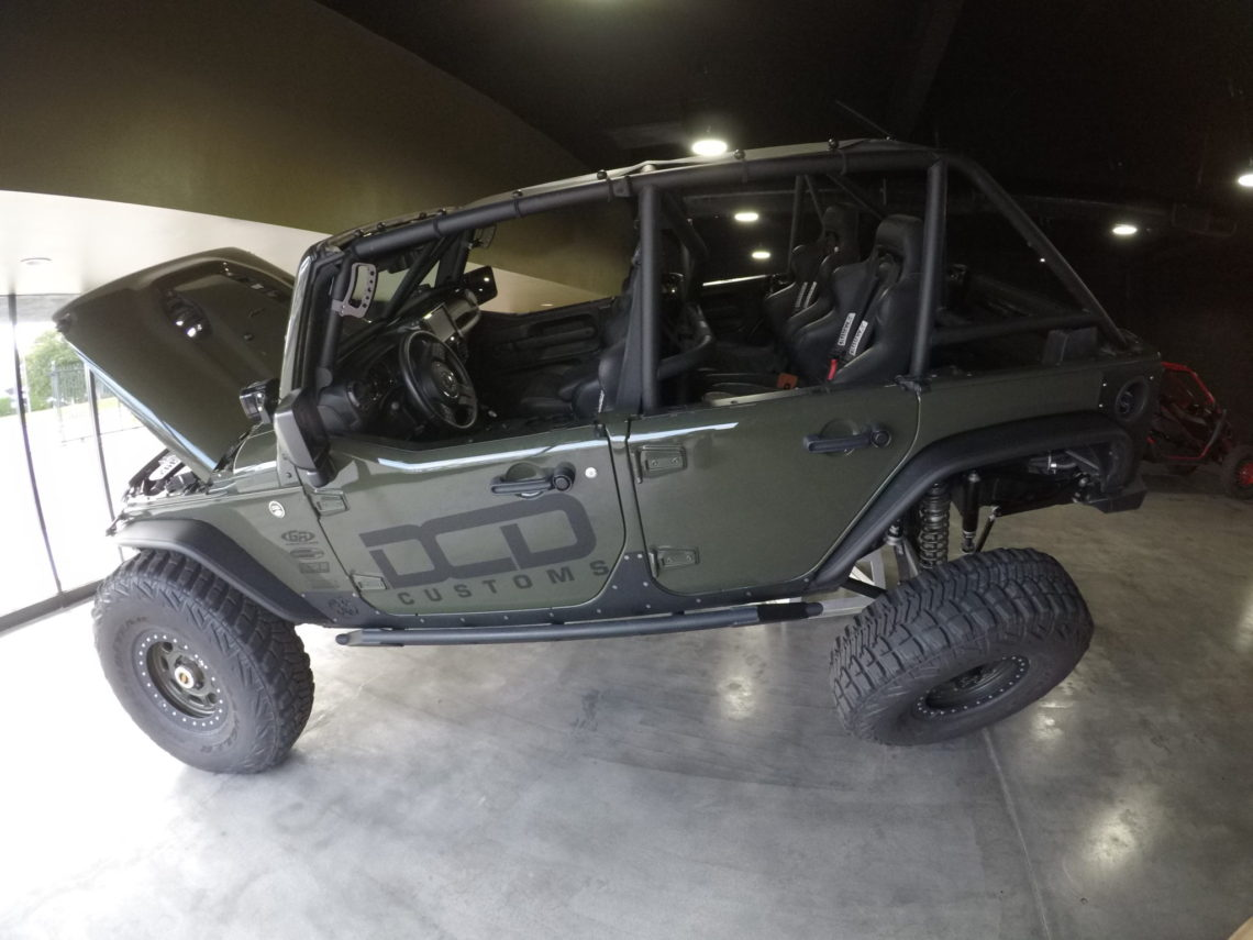 Custom Jeep Builders California