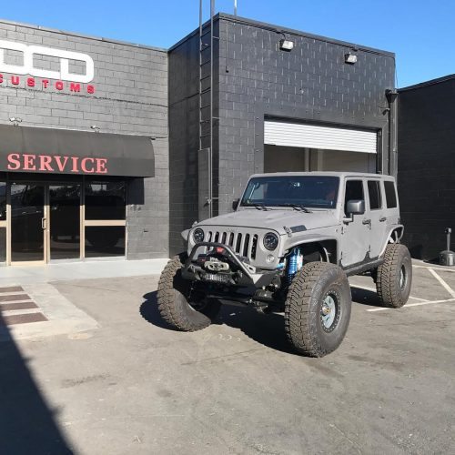 Jeep lift Kit installation shop