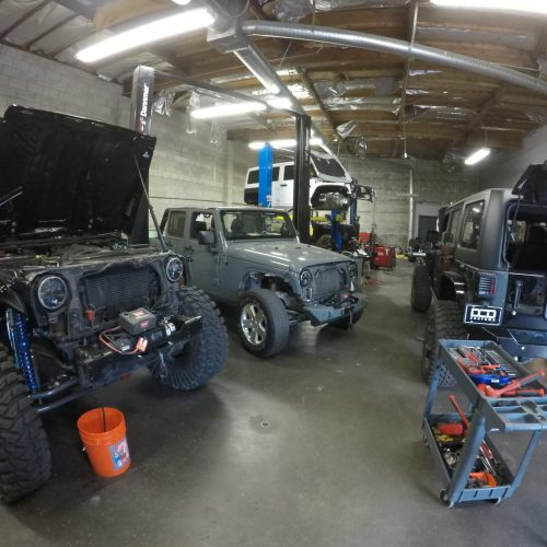 Jeep Customization Shop